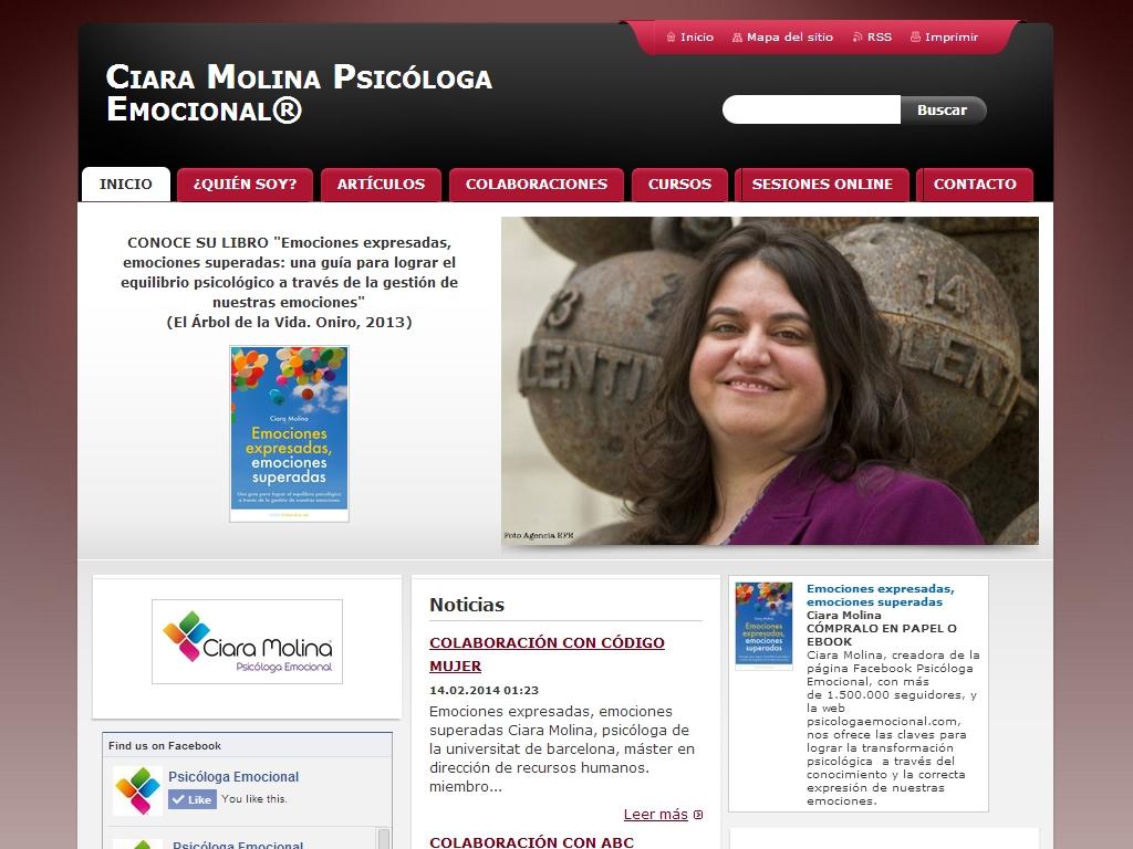 Ciara Molina 心理学 ウェブサイト