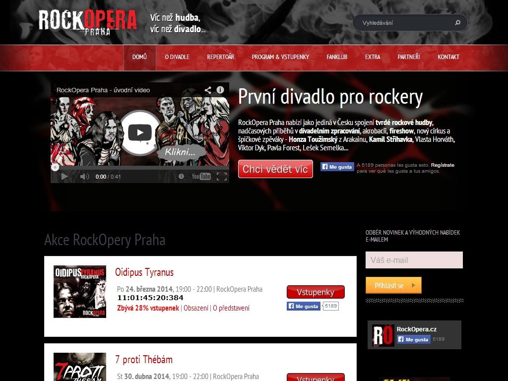 Rock Opera Prague プラハにあるロックシアター