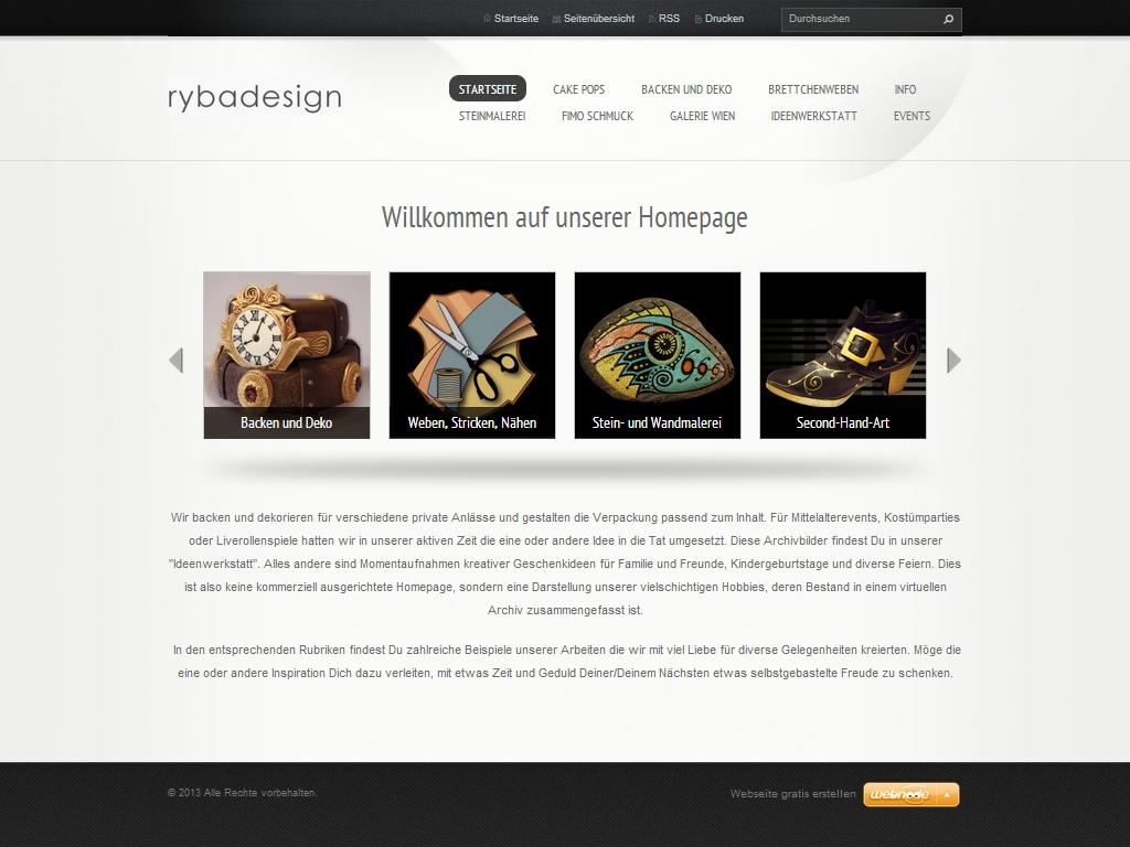 Rybadesign デザイナー ウェブサイト